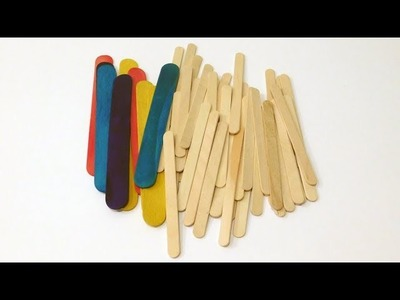 5 Exciting Popsicle Stick Craft Ideas