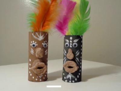 African Mask Arts and Craft #CreateBlackHistory #BlackHistoryMonth