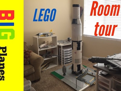 ALL of my lego planes and space craft full tour