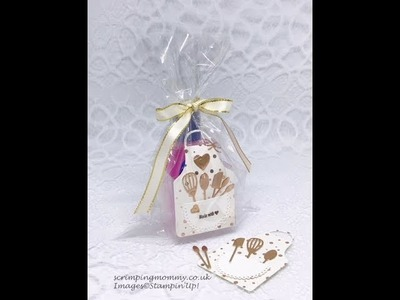 Apron of love hand gel gift set. mothers day. craft fair idea