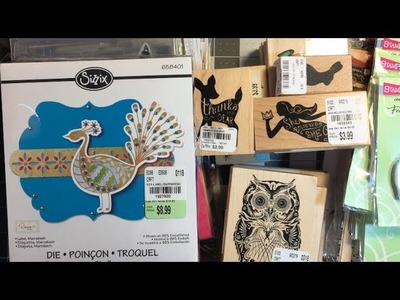 Craft Haul:  Tuesday Morning (March 2018)-Part 1
