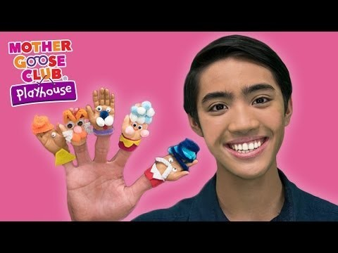 DIY Baby Hand Puppets Craft   Surprise Egg Finger Family   Mother Goose Club Playhouse Kids Video