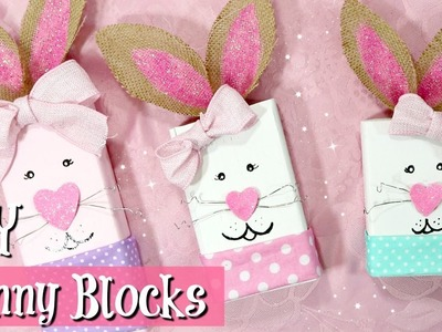 ???????????? DIY Bunny Blocks | Cute DIY Easter Crafts | Easter Decor ????????????