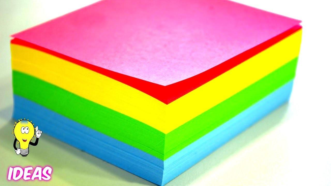 DIY Craft Ideas With Colored Paper  | EMMA DIY #42