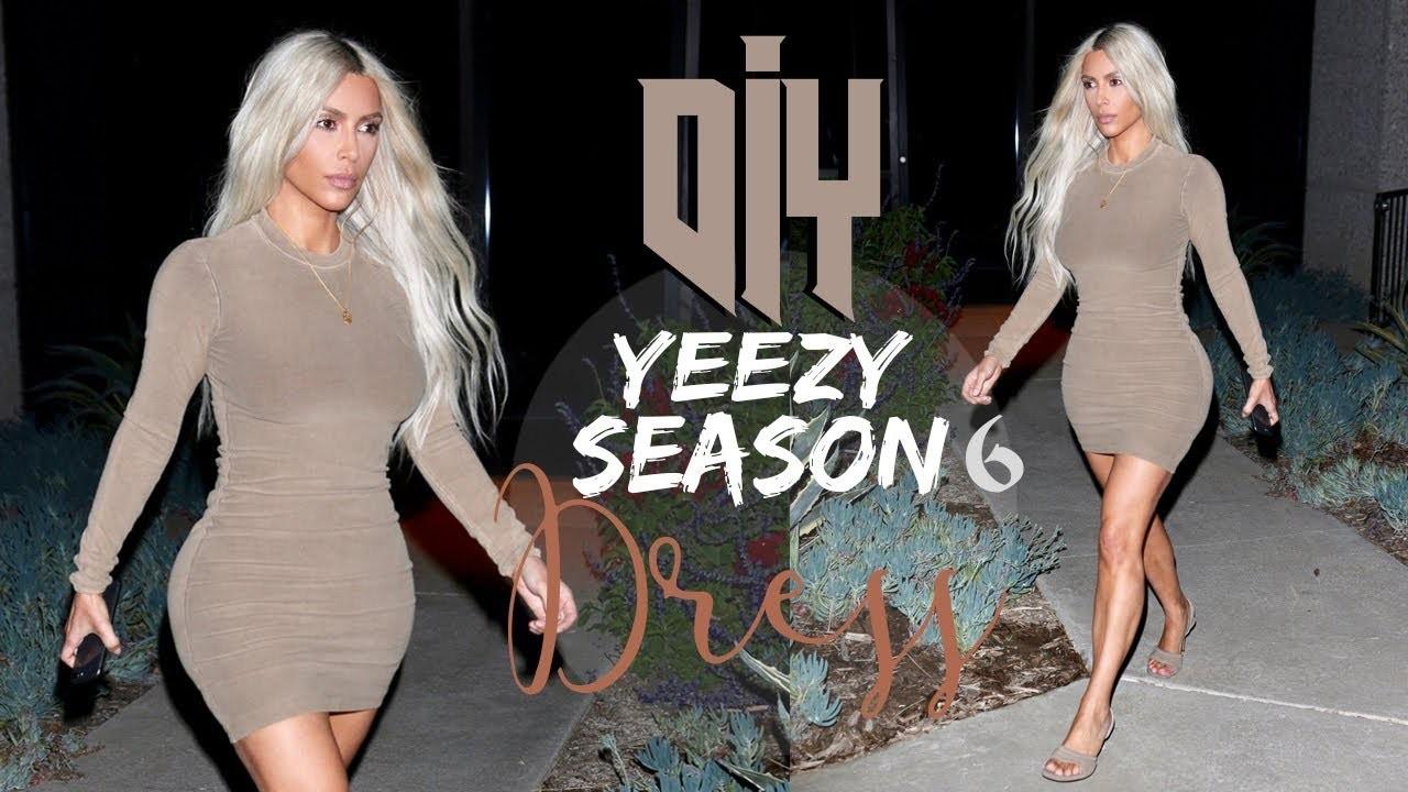 DIY CREWNECK DRESS inspired Yeezy Season 6  | Tijana Arsenijevic