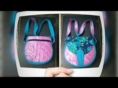 DIY : Designer Sling  Bag With Five Pocket Tutorial By Anamika Mishra. .