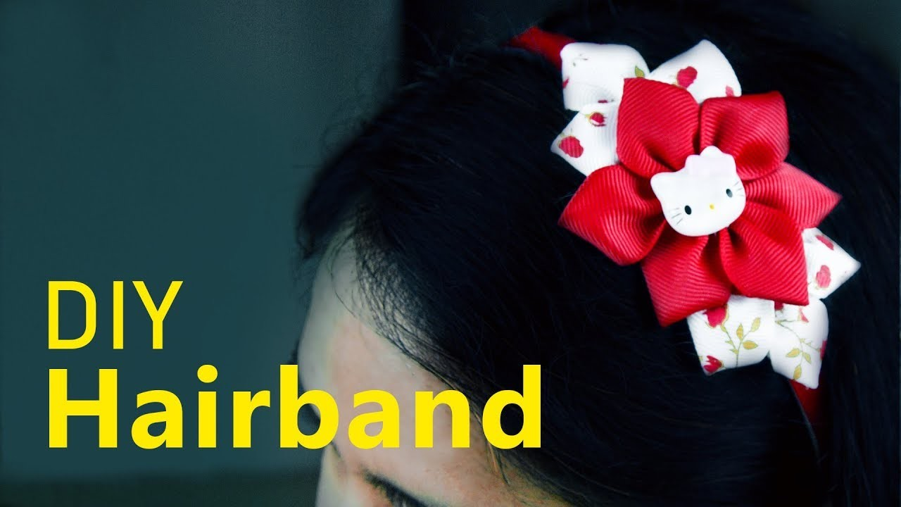 Diy Flower Hair band | How to make Hair Accessories | Headband for girls | Beads art
