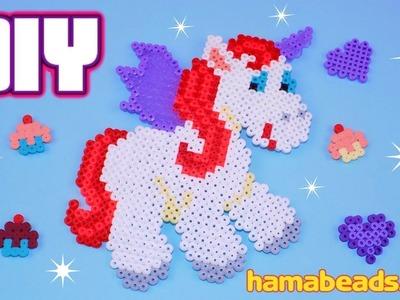 DIY Hama Beads Creations Tutorial - How to Make Unicorn, Heart & Cupcake - Easy Design Ideas