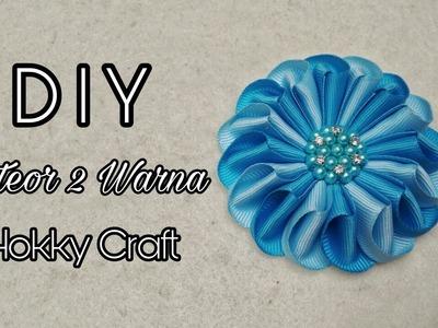 DIY ll Tutorial Meteor 2 Warna II Handmade Hokky Craft Jogjakarta