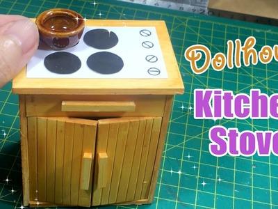 DIY Miniature Kitchen Stove | How to make Miniature Kitchen Stove for Dollhouse