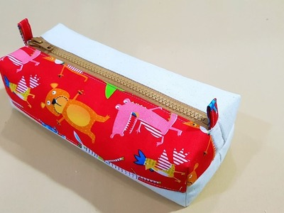 Diy Pencil Case You Need To Try | DIY TUTORIAL | A Perfect gift idea 【手作包教学】❤❤