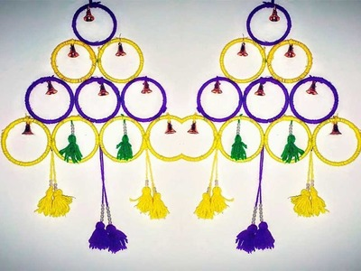Enchanting How To Make Decorative Wall Hangings With Bangles Ideas ...