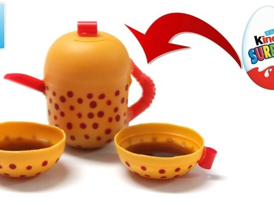 Easy DIY Toys for Kids Mini Teapot and Cups | Art and Craft Ideas