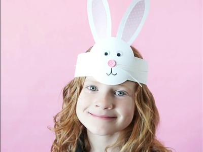 Easy Easter Bunny Headband Craft Video