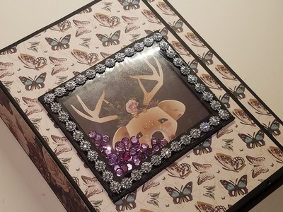 Gypsy Rose Folio Album (DT for Country Craft Creations)