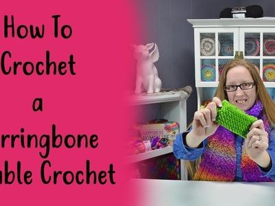 How To Crochet a Herringbone Double Crochet
