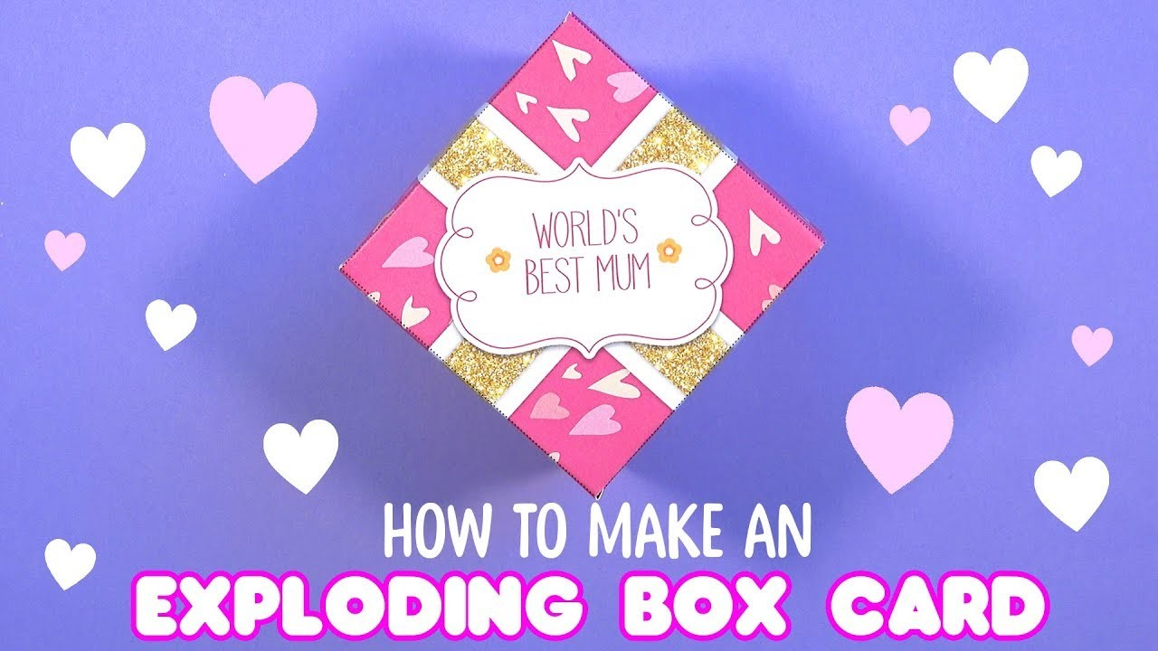 ???? HOW TO MAKE A 3D CARD | Mother's Day DIY ????