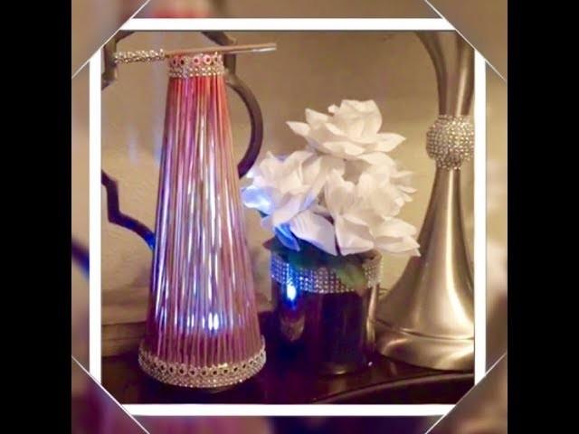 How To Make Inexpensive Dollar Tree Skewers Sticks Lamp Night Light Creating Elegance For Less 2018