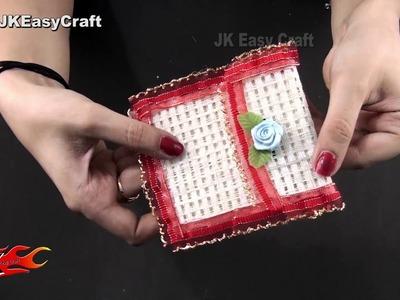 How to make Jute Purse | No Sew | DIY Purse | JK Easy Craft 238