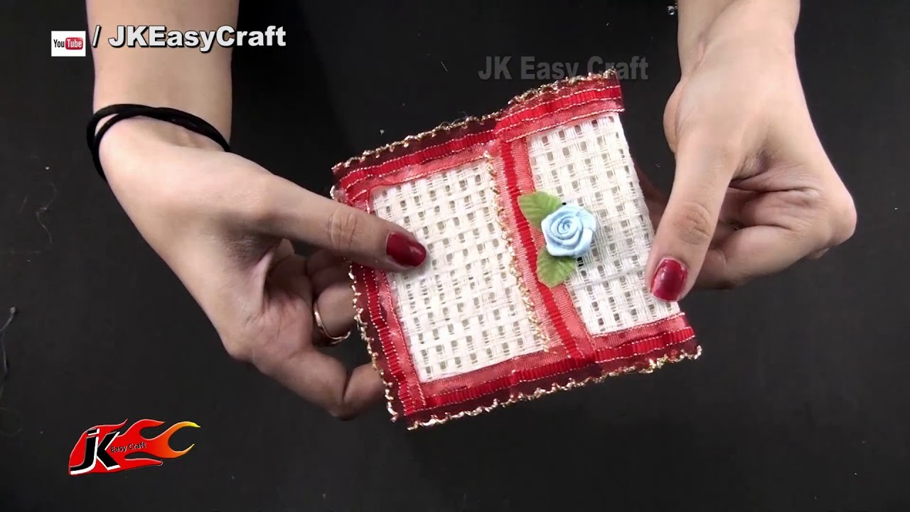 How to make Jute Purse   No Sew   DIY Purse   JK Easy Craft 238