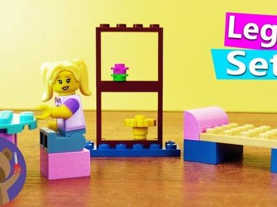 Lego Furniture DIY | Bed, Table, Shelf | DIY Toys