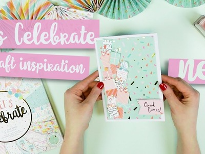 Let's Celebrate, Craft Inspiration | *NEW* First Edition Paper Pad