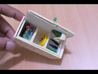 Matchstick Art and Craft | How to Make Matchstick Craft item Fueniture | Cool and Easy Craft Ideas