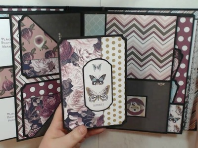 Photoplay Gypsy Rose Album & Tutorial for Country Craft Creations