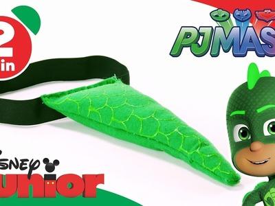 PJ Masks   Craft Tutorial: Gekko's Superhero Tail ????  Disney Junior UK
