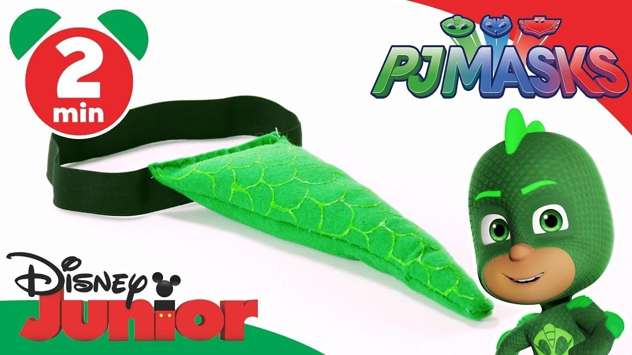 PJ Masks | Craft Tutorial: Gekko's Superhero Tail ????| Disney Junior UK