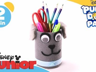 Puppy Dog Pals | Craft Tutorial: Bingo Puppy Pencil Pot | Disney Junior UK