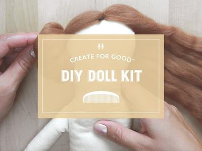 Style Your Dolls Hair | Dumyé DIY Doll Making Kit