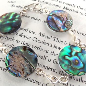 abalone shell bracelet