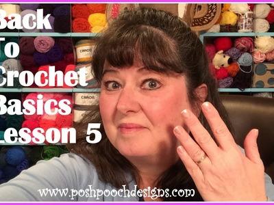 Back To Crochet Basics - Lesson 5