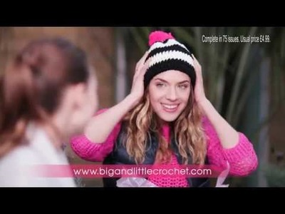 Big and Little Crochet TV advert