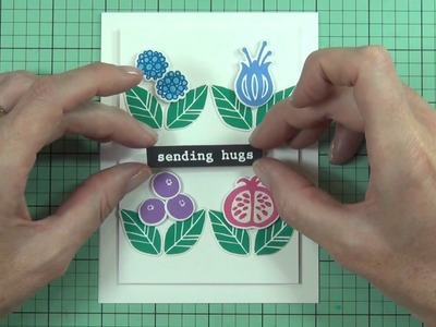 """Color Trend - How To Incorporate the Pantone Palette """"TECH-nique"""" Into Your Cardmaking"""