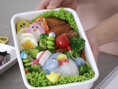 Cooking with Little Miss Bento: How to make a cute bento box