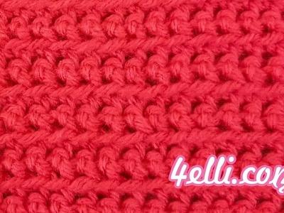 Crochet Front Loop Single Crochet Stitch Tutorial (EN)
