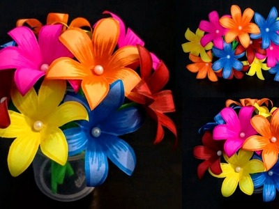 DIY: Home Decoration Idea.How to Make Beautiful Paper Flower Bouquet