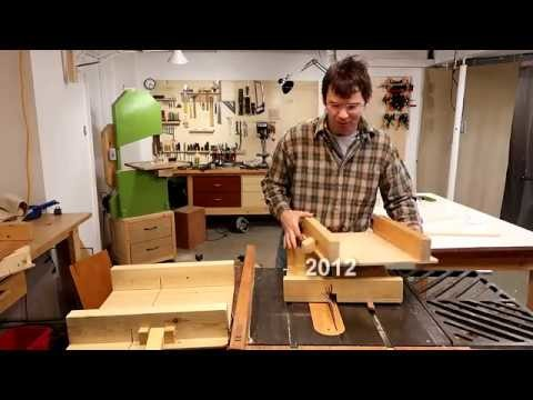 How long to make a table saw sled?
