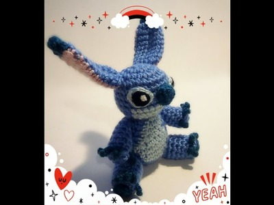 How to crochet a Stitch plushie