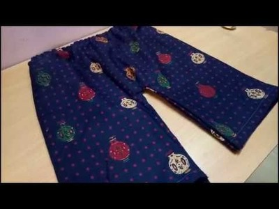 How to Cutting and Sewing Baby Pants at Home in hindi part-2