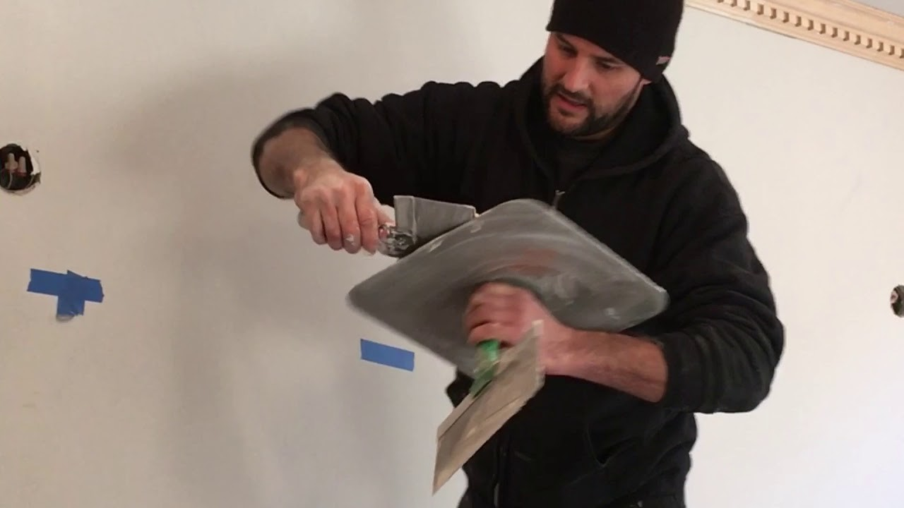 How to fix a wavy ceiling using plaster after installing crown molding