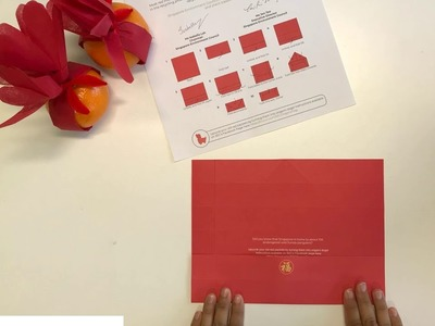 How to fold origami red packets: 8 easy steps!
