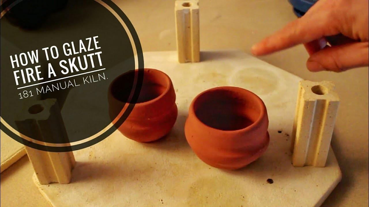 How To Glaze Fire A Manual Kiln  Skutt 181