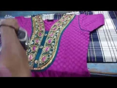 How to Iron and Fold Chudidar | Chudidar Ironing | Salwar | ironing womens clothes