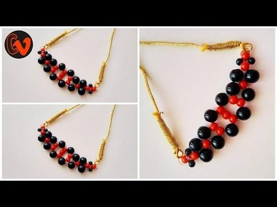 How to make a Beaded Necklace. Beaded Jewelry. Tutorial 6