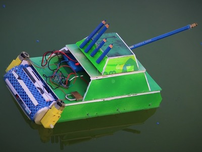 How To Make a Boat - Boat Can Drive water and Road