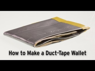 How to Make a Duct-Tape Wallet