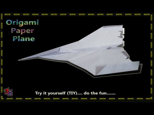 How to make a easy paper plane by Art House, Paper aeroplane